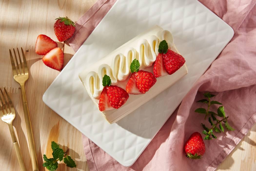 恋上草莓卷
