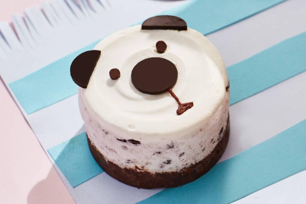迷你熊仔奥利奥蛋糕冰淇淋
