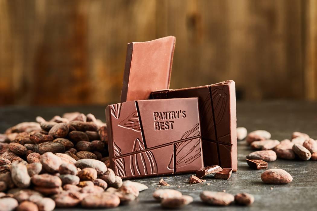 原豆黑巧克力70%排块原味