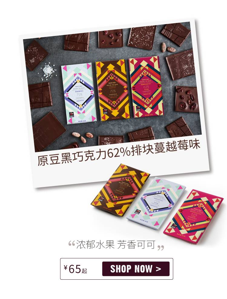 Bean to Bar 62% Cacao Dark Chocolate with Cranberries