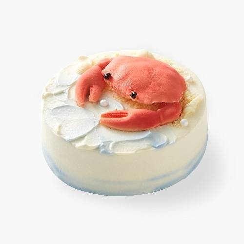 """""""蟹蟹有你""""海盐荔枝蛋糕"""
