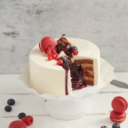 軟心莓果蛋糕