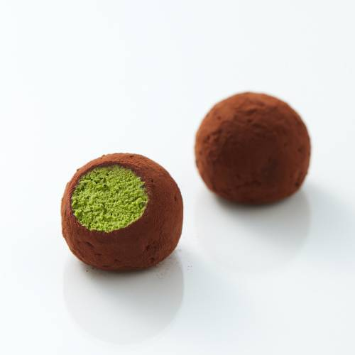 Matcha brandy flavored fluffy nama Chocolate