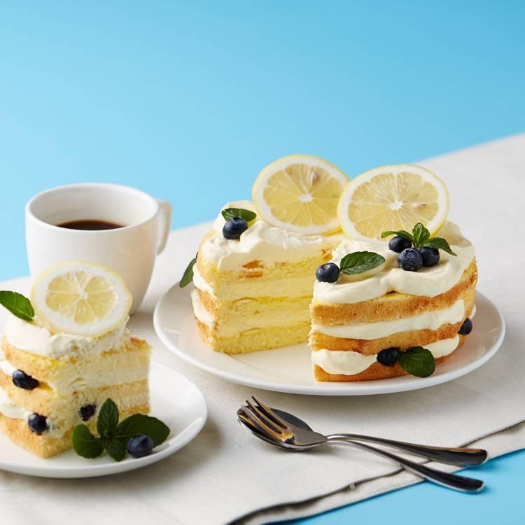 柠檬裸蛋糕