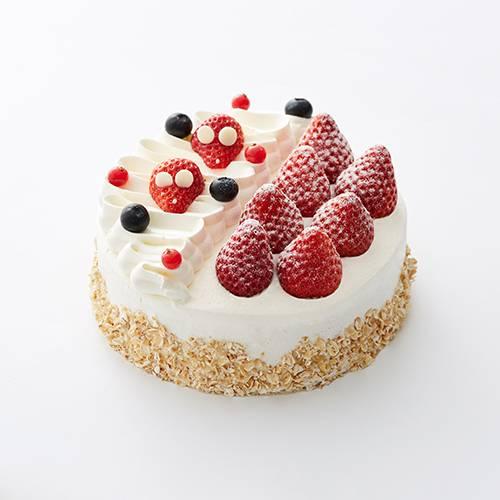 Strawberry Oatmeal Cake
