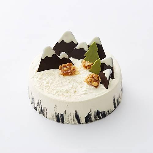 """""""雪域奇缘""""芝香摩卡蛋糕"""
