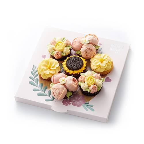 倾慕·挚爱花束纸杯蛋糕礼盒