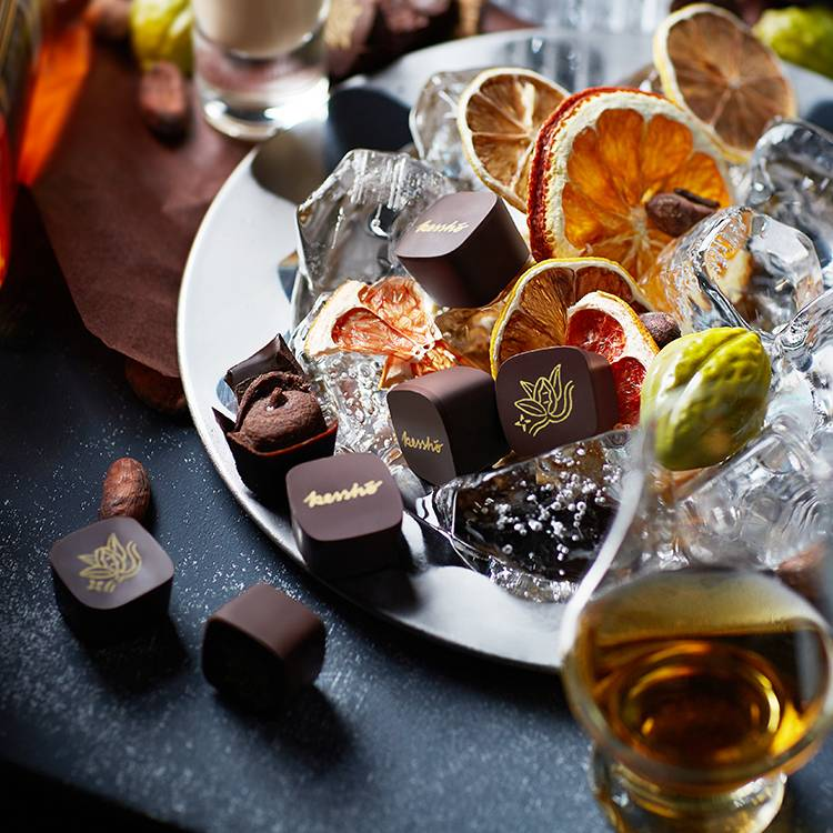 Alcohol Flavor Chocolate Bonbon