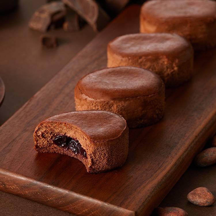 黑森林巧克力半熟芝士