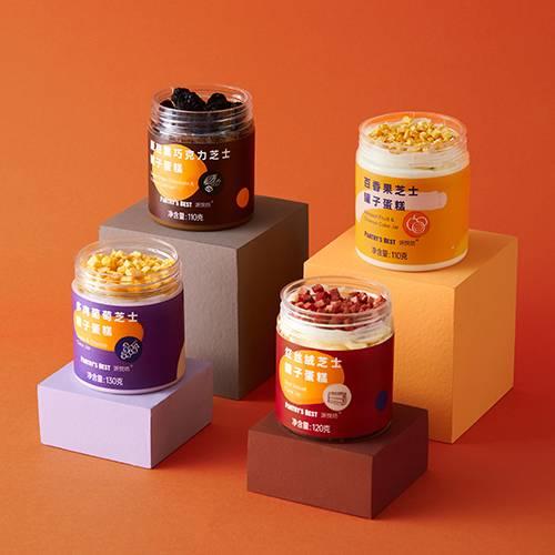 """""""芝士罐子蛋糕""""4种口味分享装"""