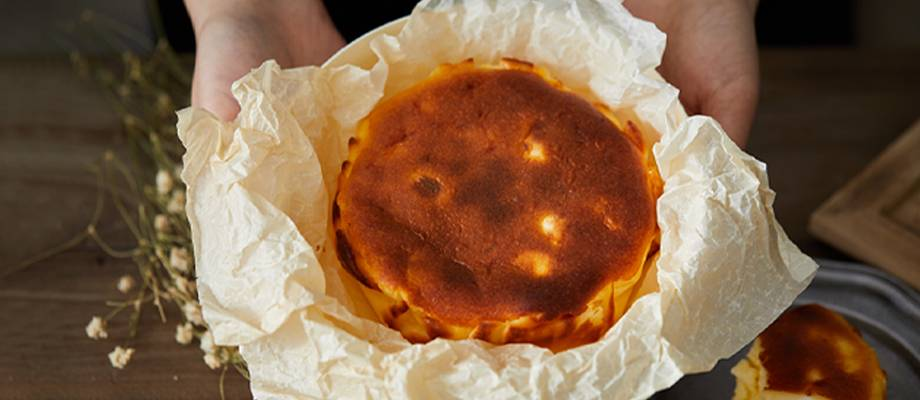Basque Double Cheese Cake