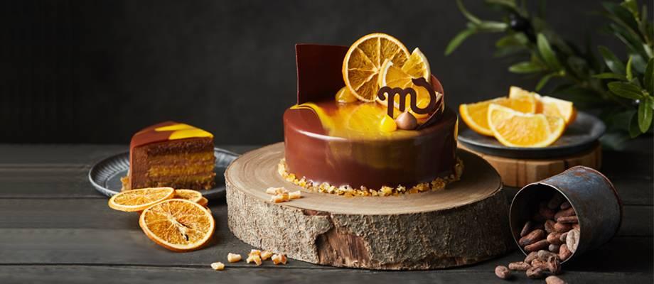 Scorpio Orange Chocolate Mousse Cake