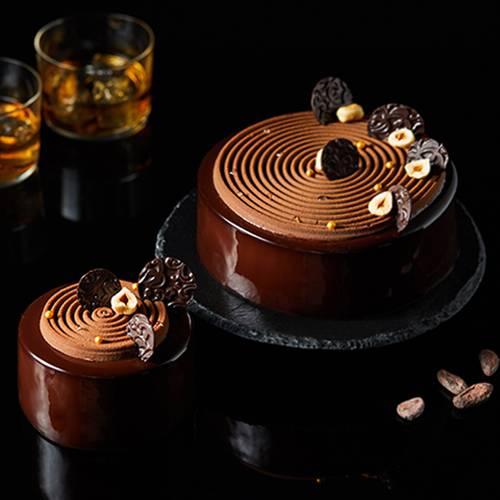 """""""榛爱""""巧克力慕斯蛋糕"""