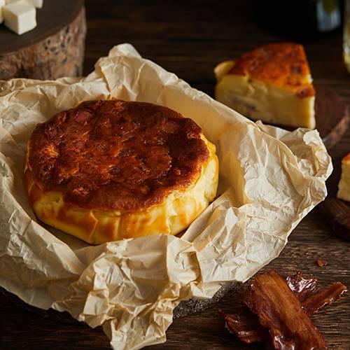 Bacon Basque Burnt Cheesecake