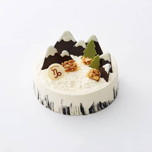 """摩羯座""""雪域奇缘""""芝香摩卡蛋糕"""