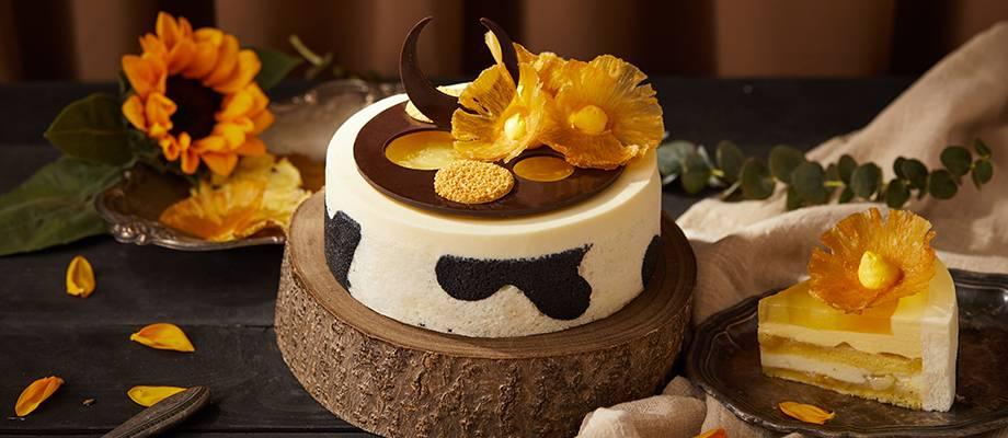 """Summer Blossom"" Taurus Pineapple Mousse Cake(new)"