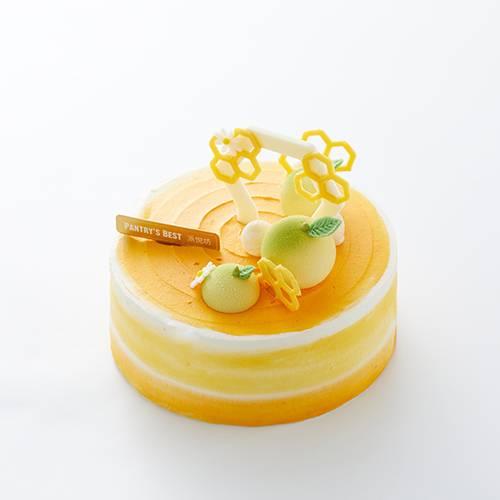 """""""蜜柚食光""""柚子树莓戚风蛋糕"""