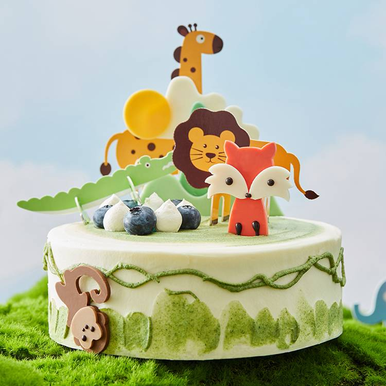 Forest Concert Soymilk Chiffon Cake