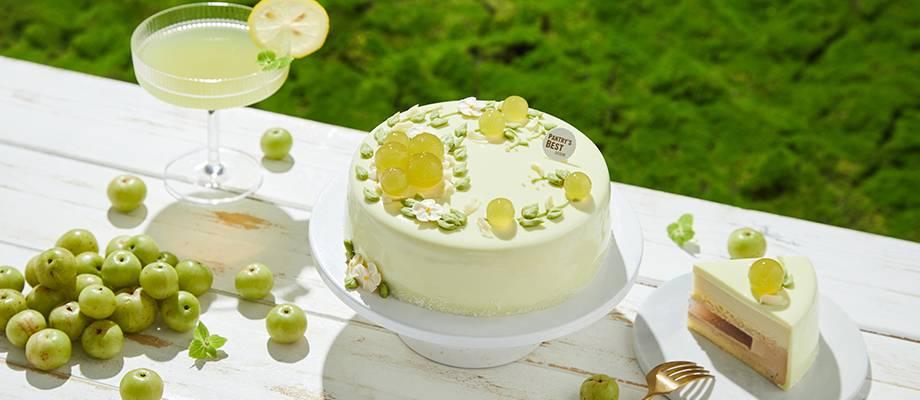 Yougan & Tea Mousse Cake