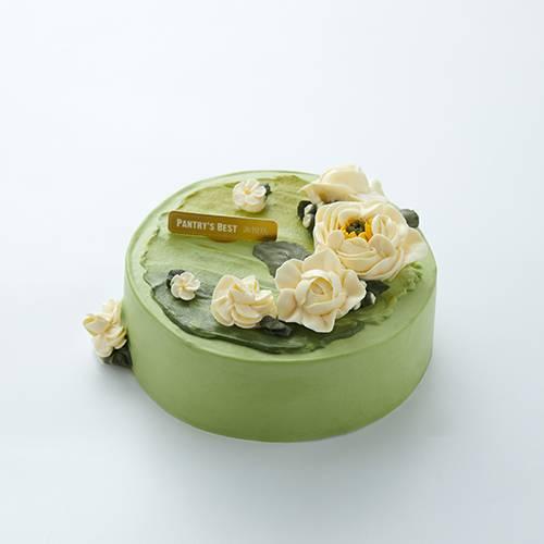 Libra Hojicha & Chestnut Cake