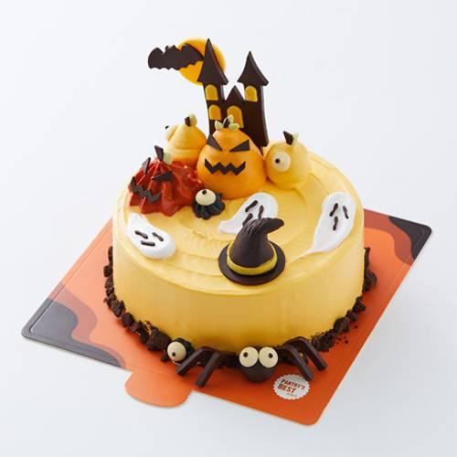 Halloween Pumpkin Yogurt Chiffon Cake